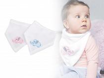 Šátek na krk pro miminko se slonem