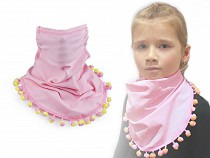 Scarf with Face Mask for Kids 2in1