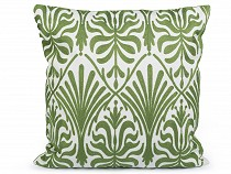 Pillow Cover with Embroidered Ornaments 45x45 cm