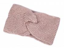 Damen Winter Stirnband mit Pailletten