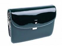 Glossy Crossbody Handbag 13x19.5 cm