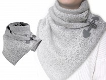 Scarf with Design Fastening 35x150 cm
