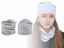 Komplet czapka i szalik / komin