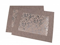 Tischset – Textil 22x43cm