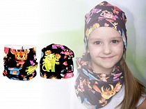 Girl's Hat and Snood Set