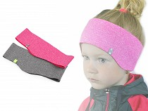 Detská športová čelenka softshell