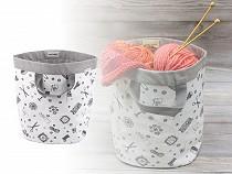 Knitting Yarn Storage Bag / Basket