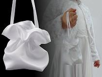Satin Pompadour Bag / Burlesque Wristlet