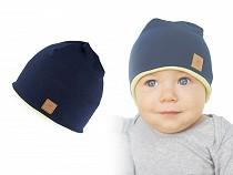 Children's Cotton Hat insulated with polar fleece