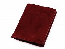 Férfi bőr pénztárca 9,5x12 cm