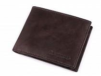 Geldbörse für Herren aus Leder 9x11cm