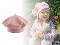 Baskenmütze für Kinder Tonak 100% Wolle