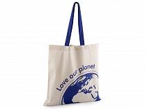 Textilná taška Love our planet 40x40 cm