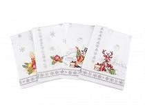 Bavlněná utěrka vánoční 45x50 cm