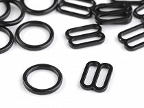 Plastic Bra Ring and Slider width 12 mm