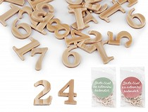 Zahlenset für Adventskalender / 1 - 24