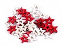 Holzdekoration Stern, Engel, Komet zum Aufkleben