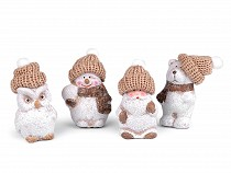 Winter Figurines in Gift Bag