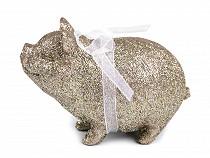 Piggy bank a szerencse csillogással