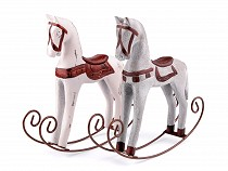 Dekorace houpací koník
