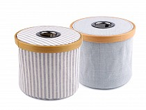 Folding Box for Knitting and Sewing Supplies