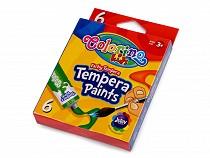 Temperové farvy 6 ks
