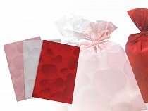 Darčekový sáčok srdce 16x24,5 cm
