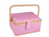 Kazeta / košík na šití čalouněný