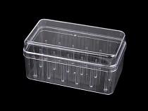 Plastový box na 18 ks nití