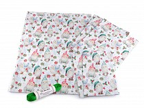 Christmas Fabric set for Wrapping Gifts