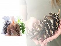 Prírodné veľké šišky na aranžovanie / dekoráciu