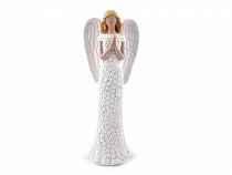 Angel Decoration with Fine Glitter