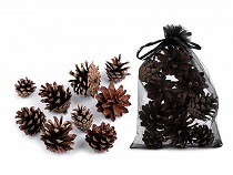 Prírodné šišky na aranžovanie / dekoráciu