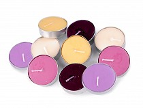 Bougie chauffe-plat parfumée, 11g, 6 pièces