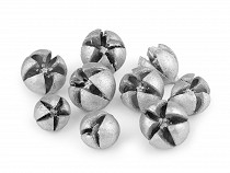 Cônes de cyprès métalliques