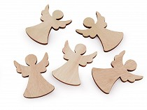 Wooden Decorative Angel for gluing / painting