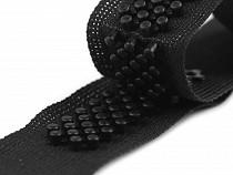 Műanyag 3D kapocs / tépőzár utánzat szélessége 20 mm