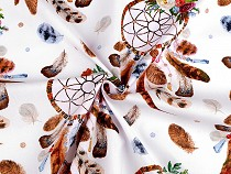 Bavlnená látka lapač snov