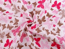 Cotton Cloth Fabric, Butterflies