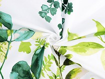 Cotton Fabric Leaves