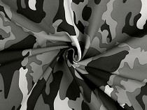 Softshell Winter Fabric, Camouflage