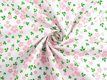Tkanina bawełniana kwiatuszki