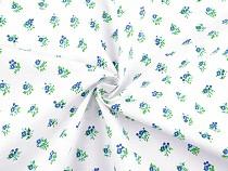Cotton Fabric Mini Roses