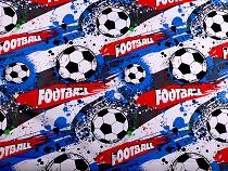 Bavlnená látka futbal