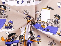 Cotton Fabric Pirates