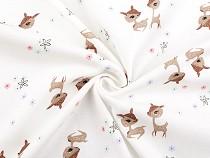Cotton Knit Deer