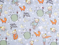 Jersey Knit Fabric - Little Prince