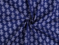 Cotton Fabric with Ornaments
