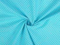 Bavlnená látka mini bodka