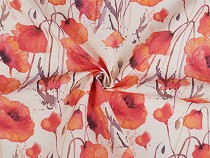 Decorative Fabric Loneta Poppies
